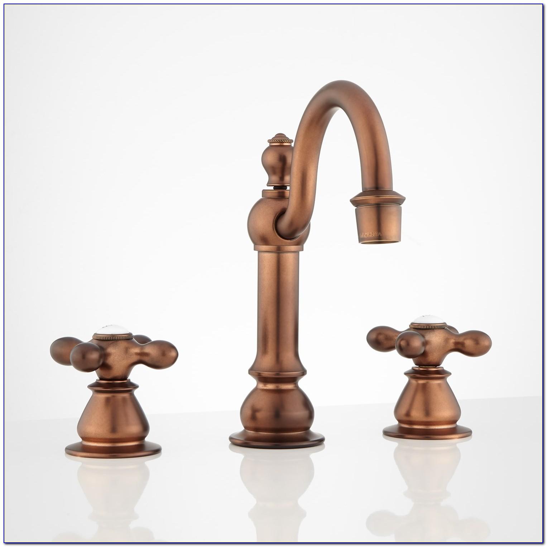 Antique Copper Bathroom Faucet