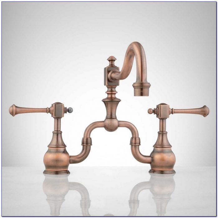 Antique Copper Kitchen Faucets