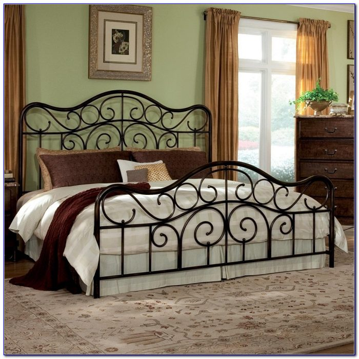 Antique Iron Headboards Queen