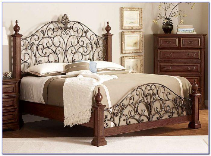 Antique Iron Queen Beds