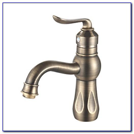 Bath Faucets Antique Brass