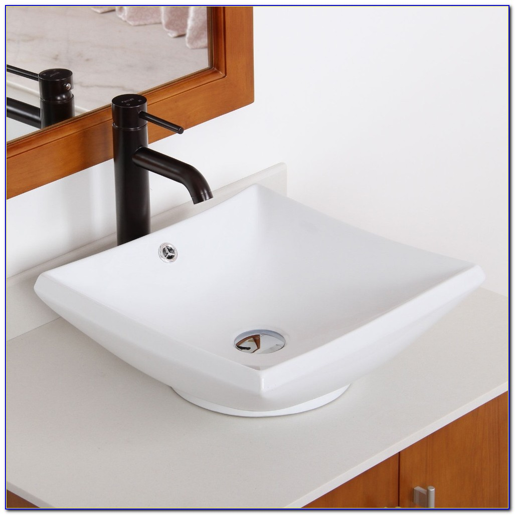 Bathroom Sink And Faucet Combo