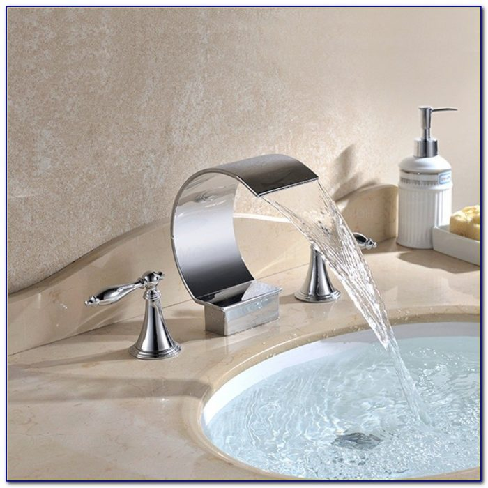Bathroom Sink Waterfall Faucets