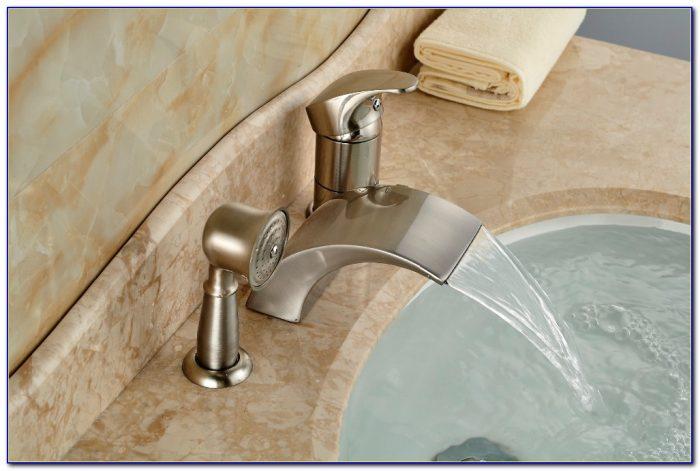 Bathtub Faucets With Sprayer