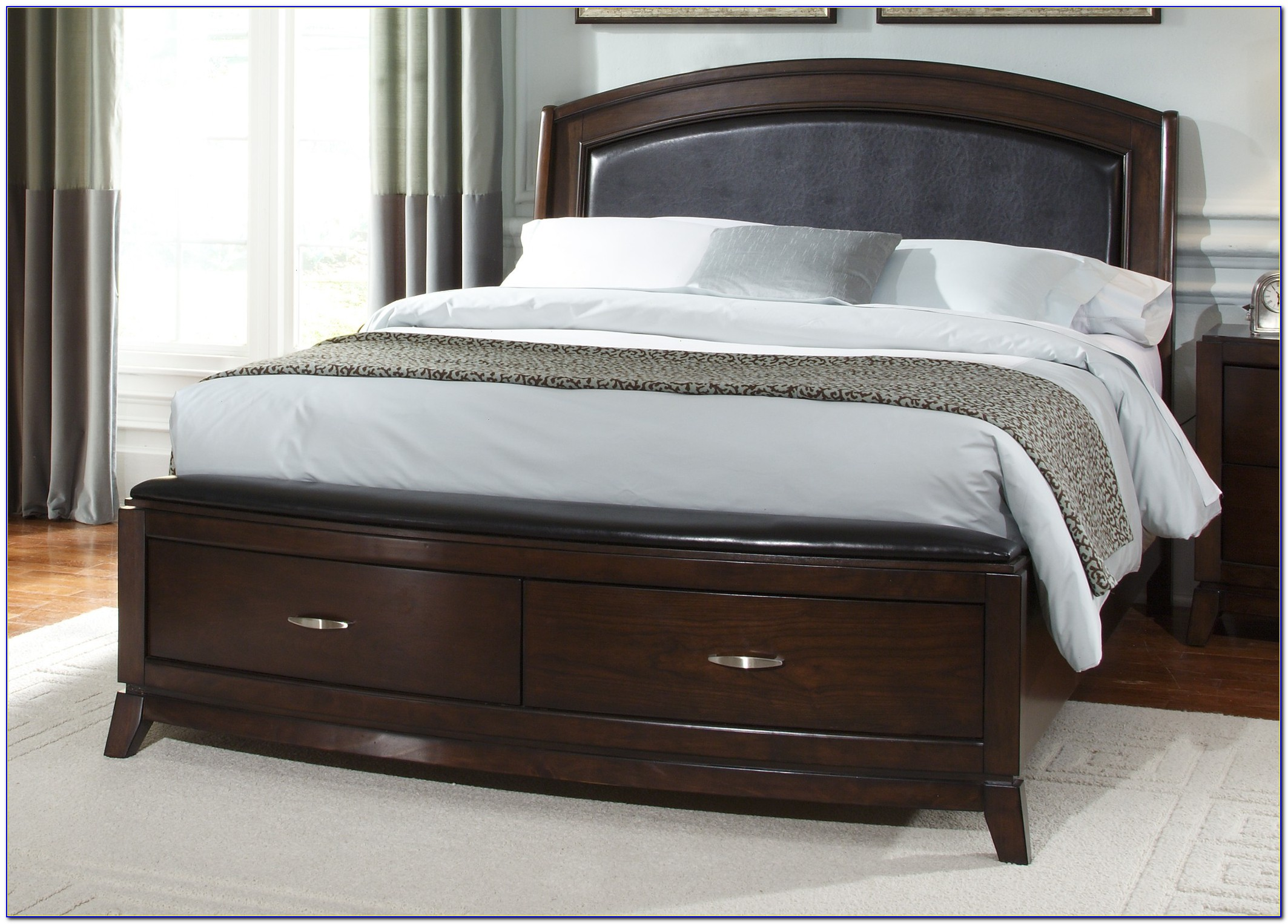 Bed Frame And Headboard Set King