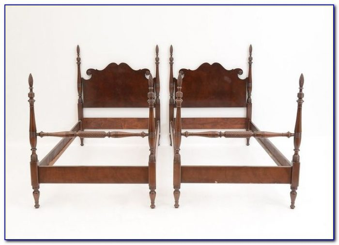 Bed Frame With Headboard And Footboard Attachments