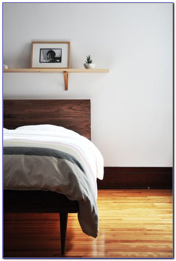 Bed Frame With Storage In Headboard
