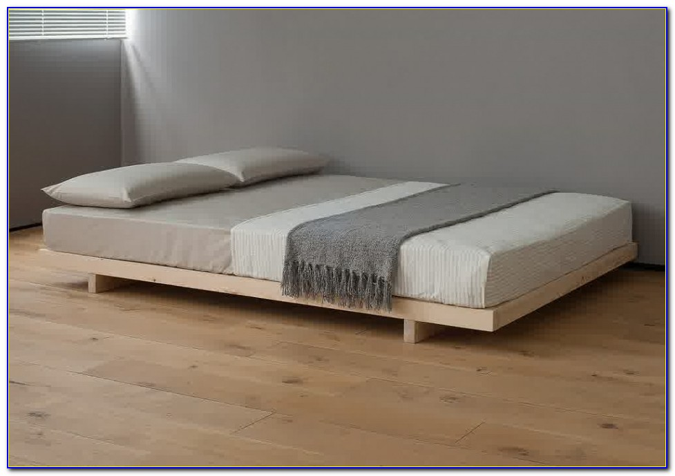 Platform Bed Without Headboard In Bed Frames Without Headboard | Rickevans Homes