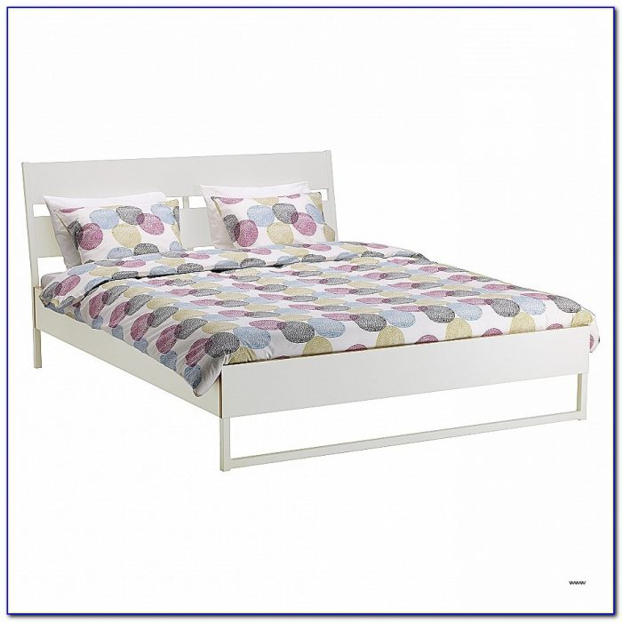 Platform Bed Frame No Headboard Lovely Double & King Size Beds & Bed Frames Ikea