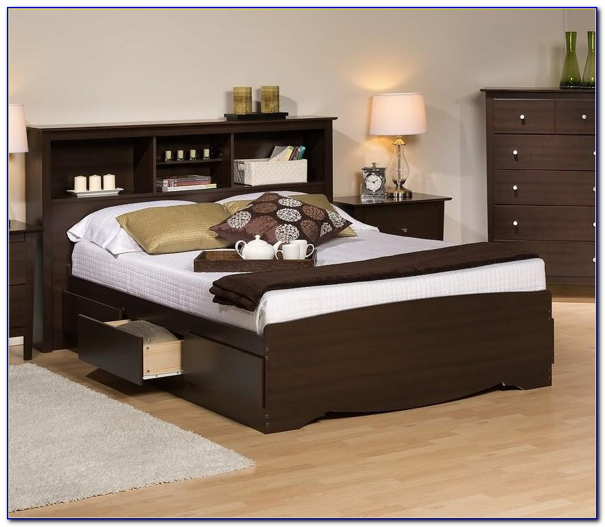 Download Living Rooms The Most Elegant As Well As Lovely Full Pertaining To Full Size Storage Bed With Bookcase Headboard Prepare