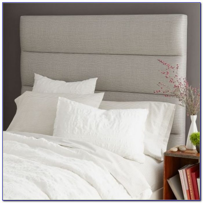 Panel Tufted Headboard West Elm Cushioned Headboard