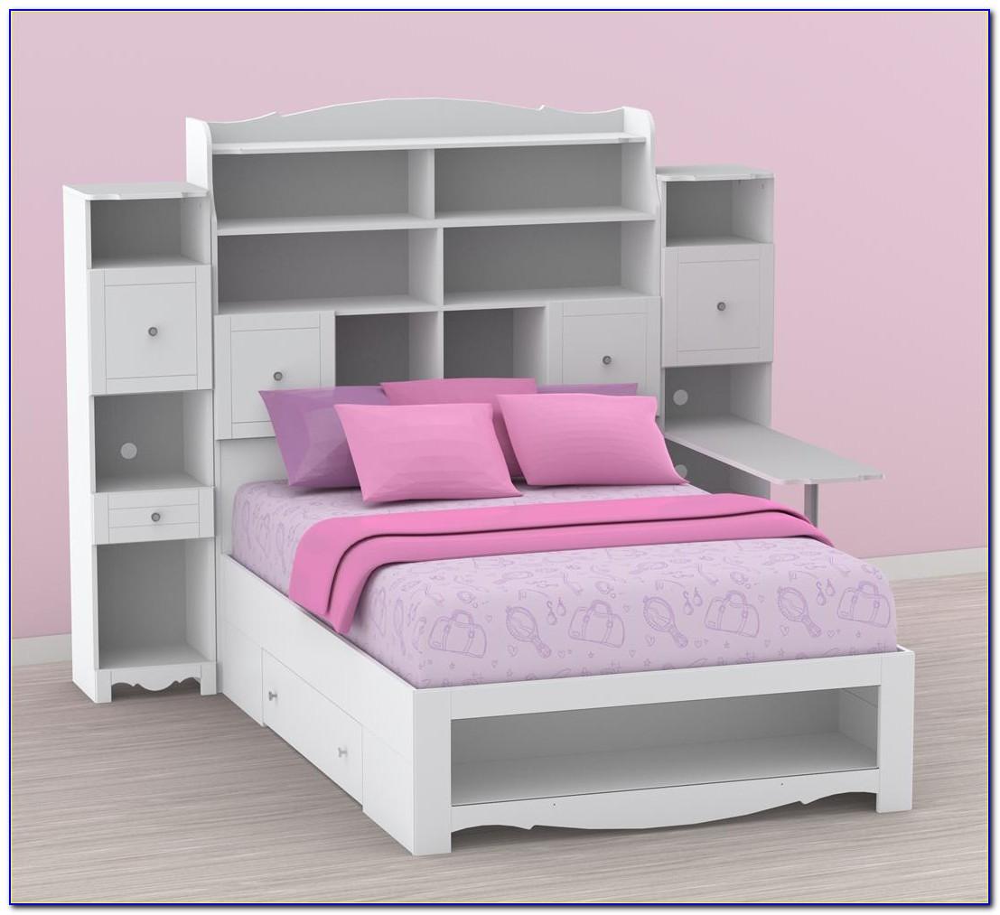 Bed With Gun Storage In Headboard