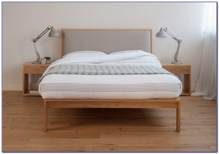 Bed With Tufted Headboard