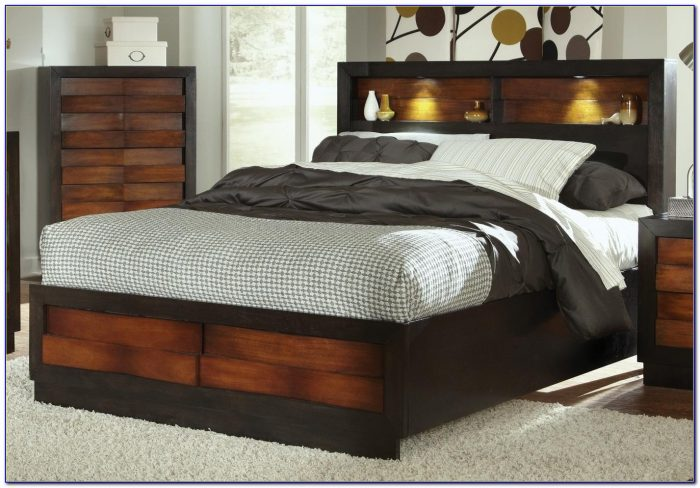 Beds With Headboard Storage