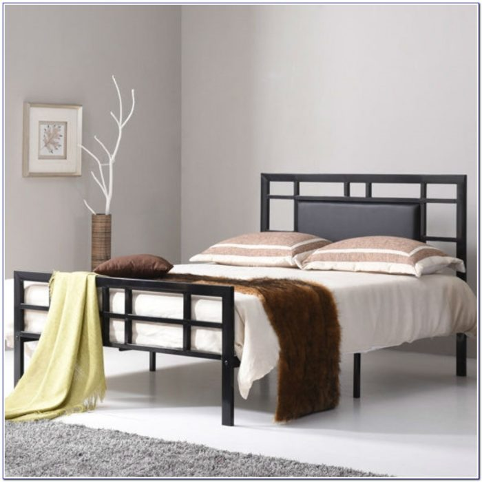 Black Metal Headboards For Queen Beds
