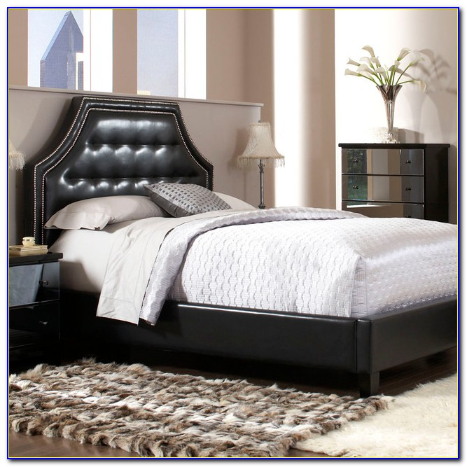 Black Queen Size Headboard