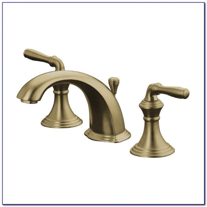 Brushed Bronze Bathroom Faucets