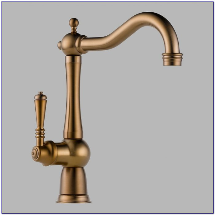 Brushed Bronze Kitchen Faucets