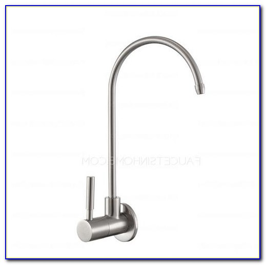 Brushed Stainless Steel Drinking Water Faucet