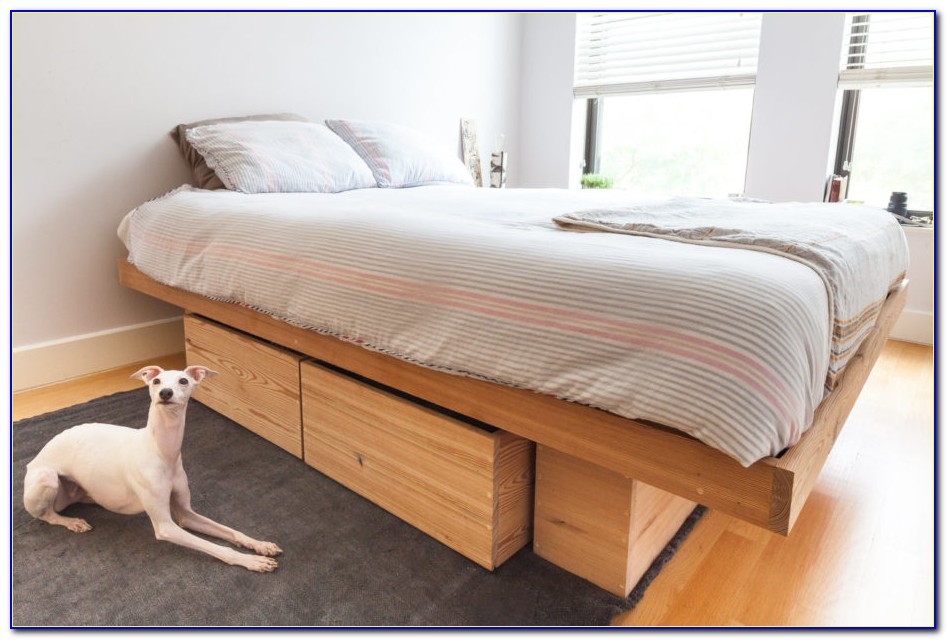 California King Bed Frame No Headboard