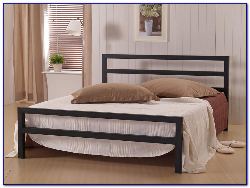 California King Bed Wood Headboard