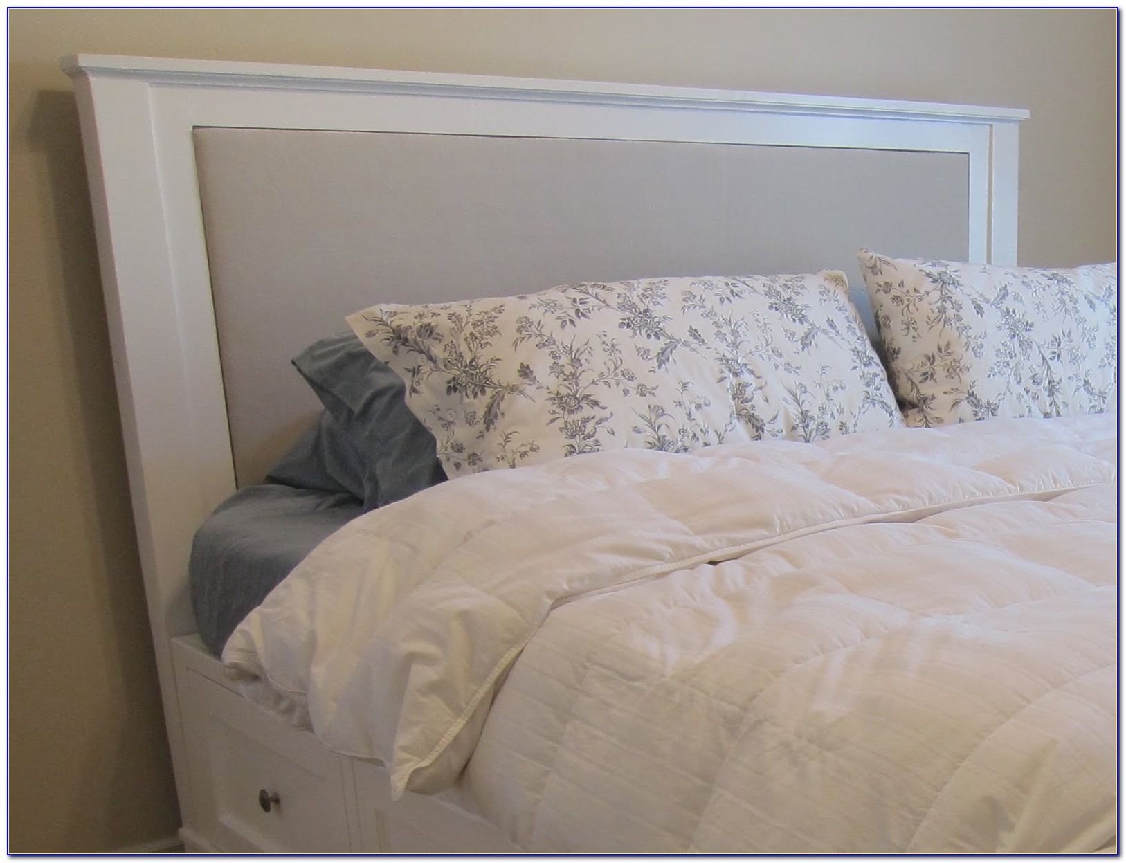 California King Size Bed Frame And Headboard