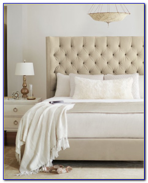 California King Upholstered Headboard And Frame