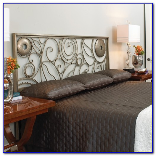 California King Wrought Iron Headboards