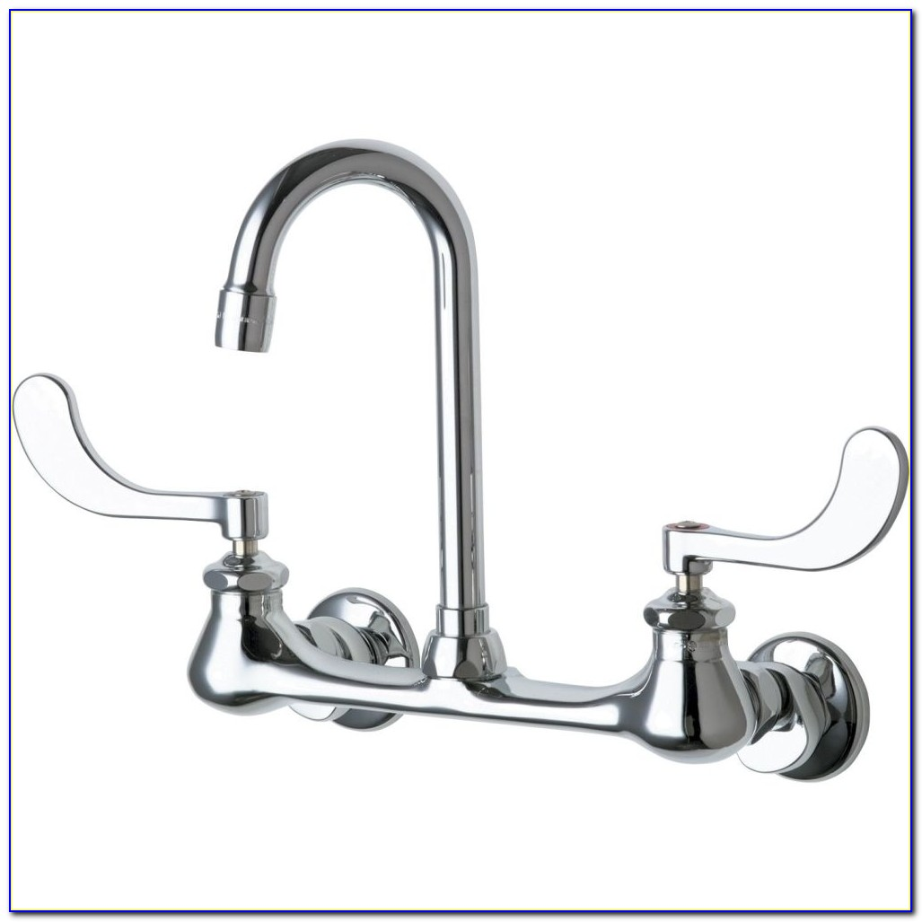 Chicago Wall Mount Sink Faucet