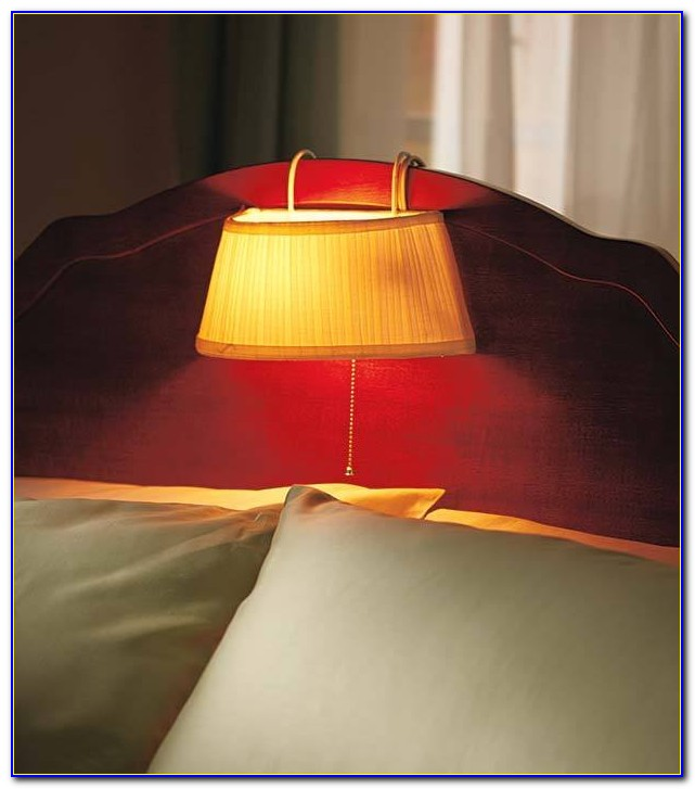 Clip On Headboard Lamp Reading Light