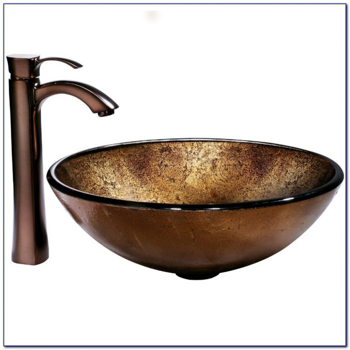 Copper Faucets For Vessel Sinks