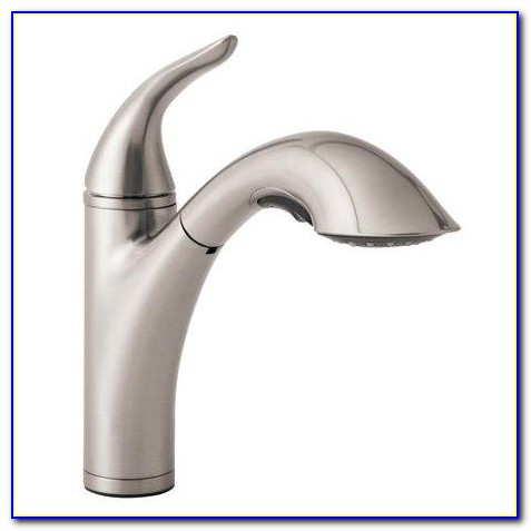 Danze Single Handle Kitchen Faucet With Spray