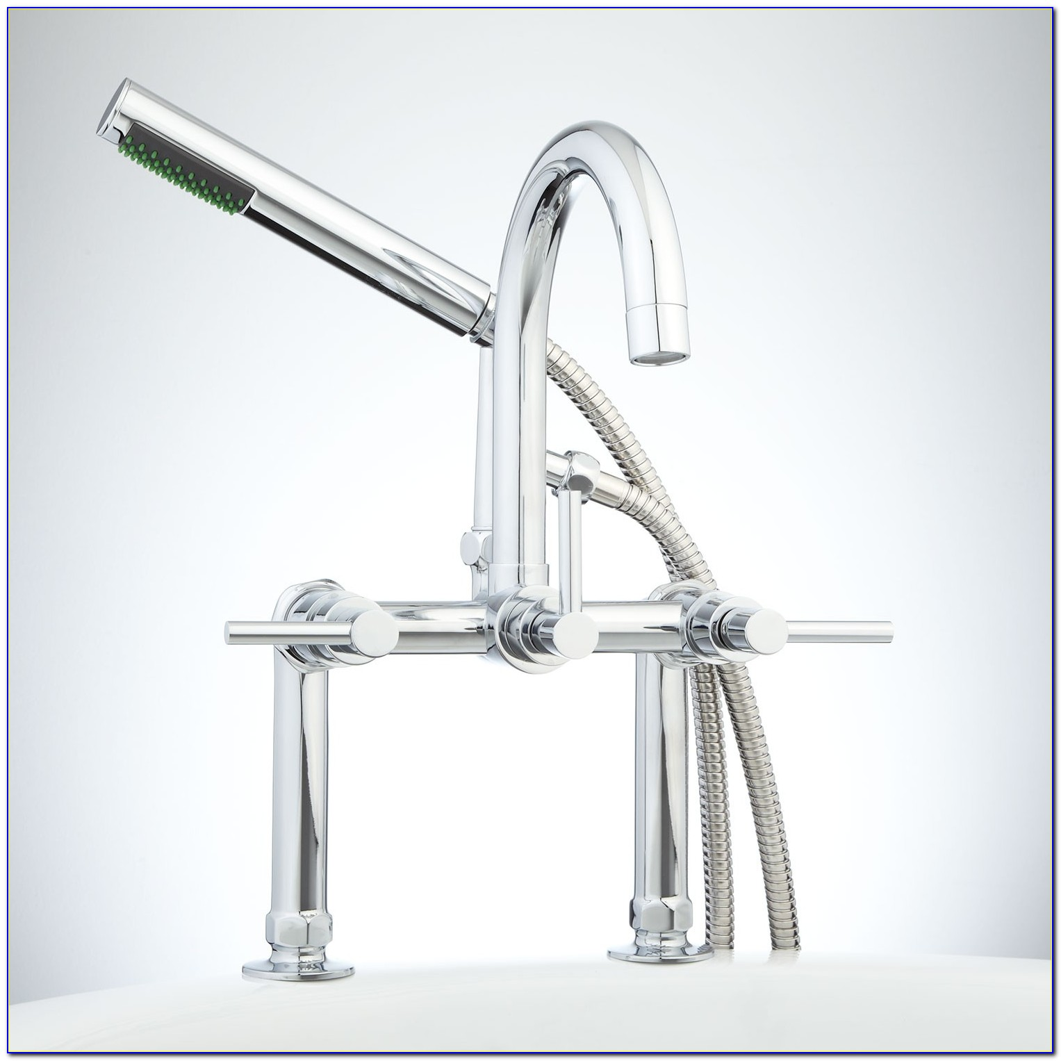 Deck Mounted Bath Faucets