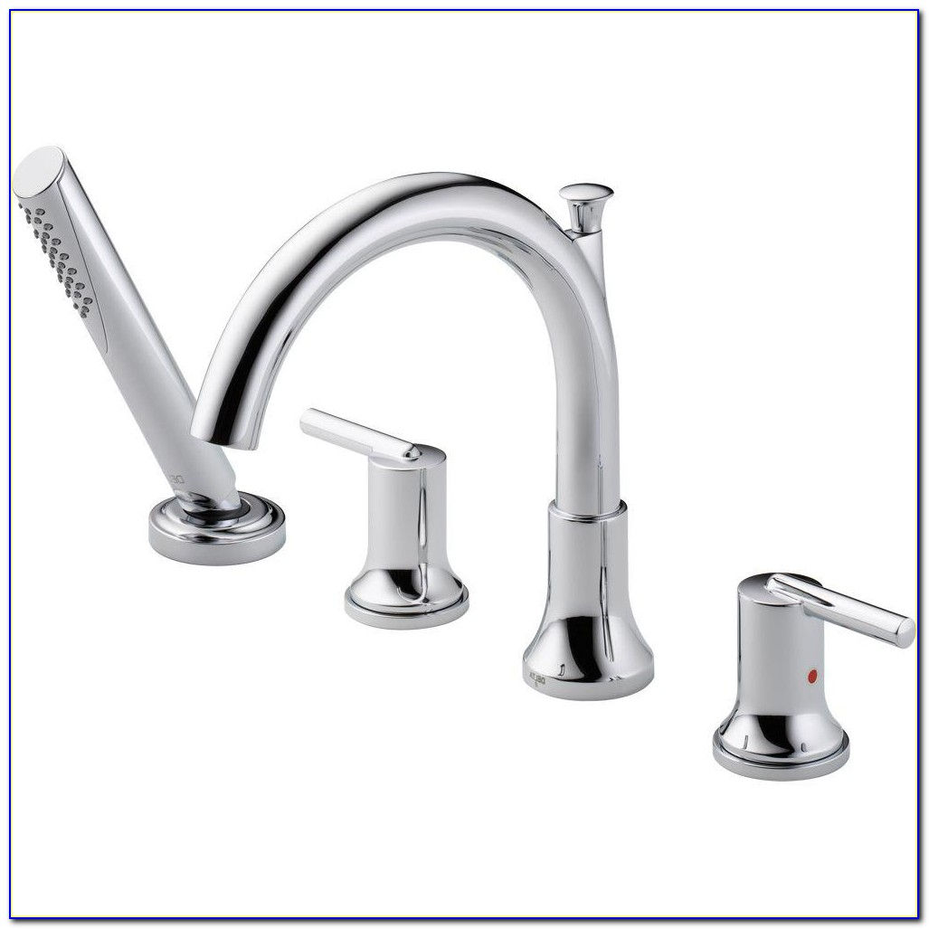 Deck Mounted Clawfoot Tub Faucets