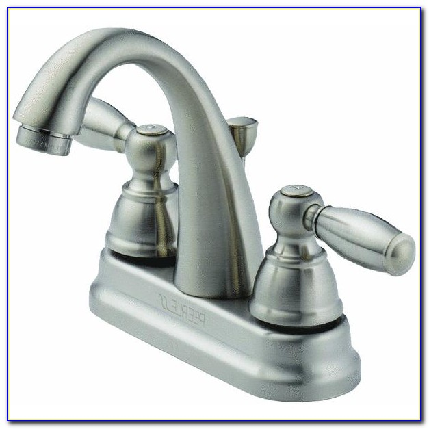 Delta Bath Faucets Brushed Nickel