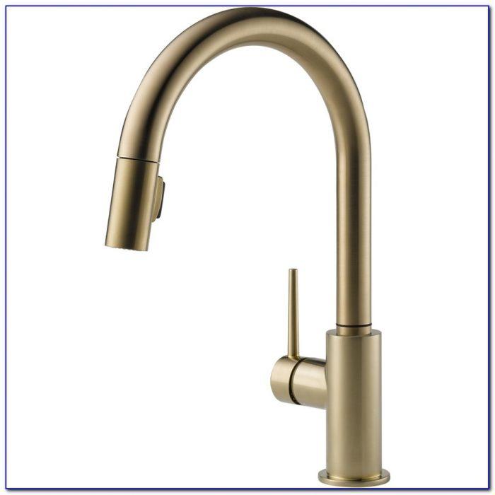 Delta Rubbed Bronze Kitchen Faucets