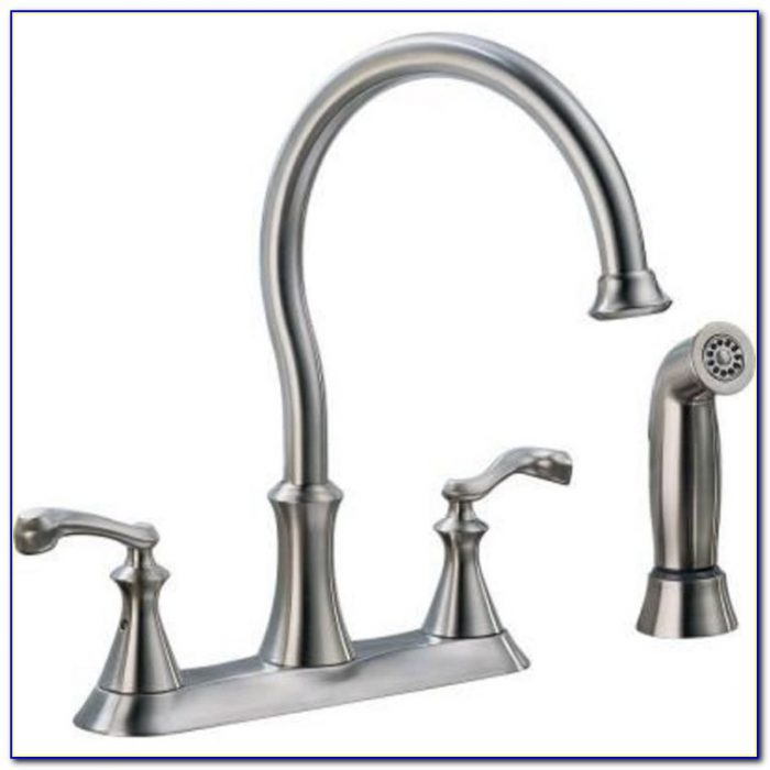 Delta Single Lever Waterfall Kitchen Faucet Model 174
