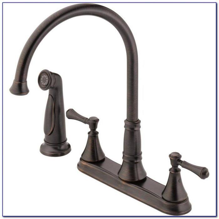 Delta Windemere Kitchen Faucet Bronze