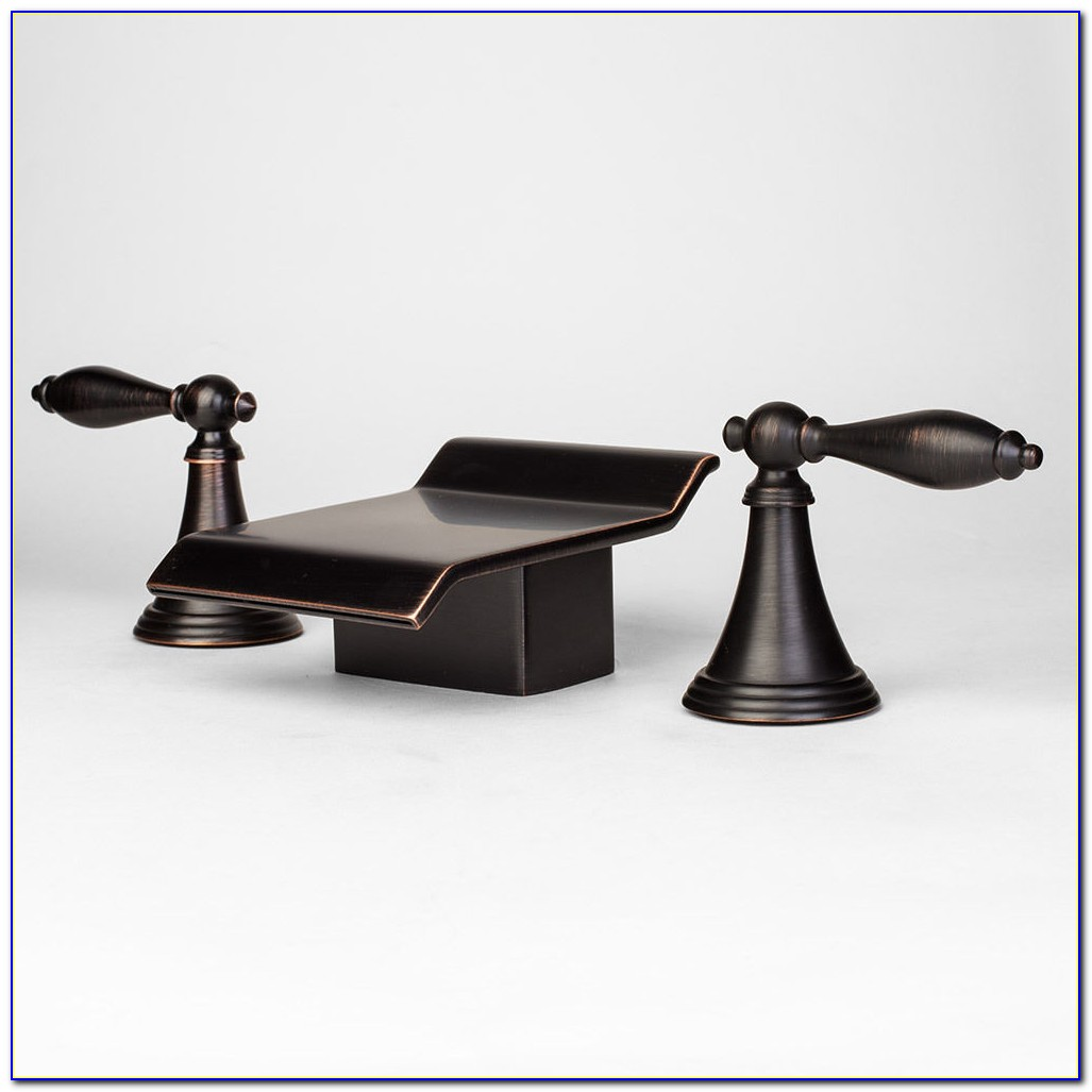 Delta Windemere Roman Tub Faucet Oil Rubbed Bronze