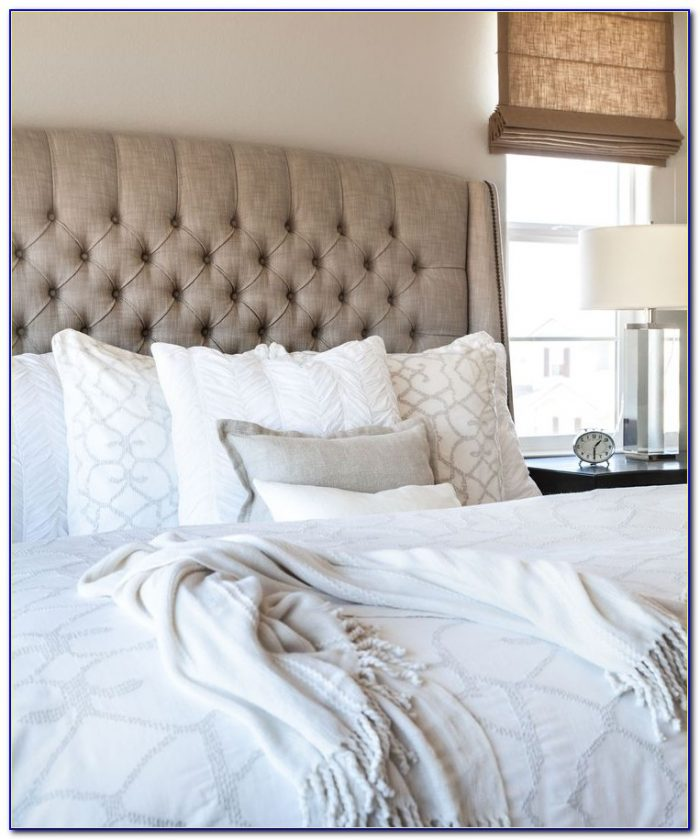 Diy Tufted Headboard With Crystals