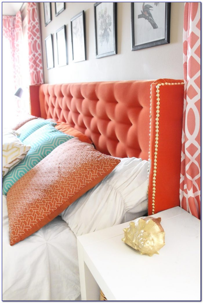 Diy Wingback Tufted Headboard