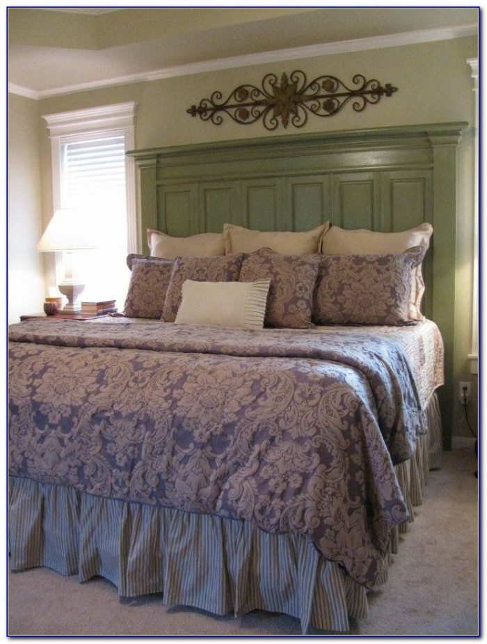 Do It Yourself King Size Headboard Ideas