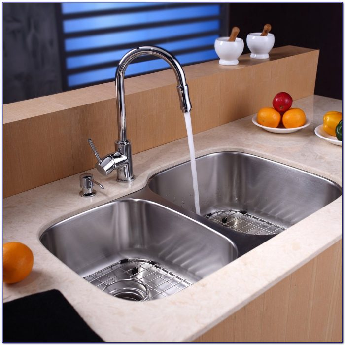 Faucet For 3 Bowl Sink