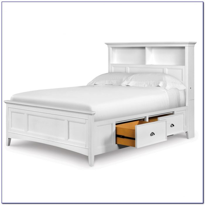 Full Size Bed Frame Headboard Footboard Attachments