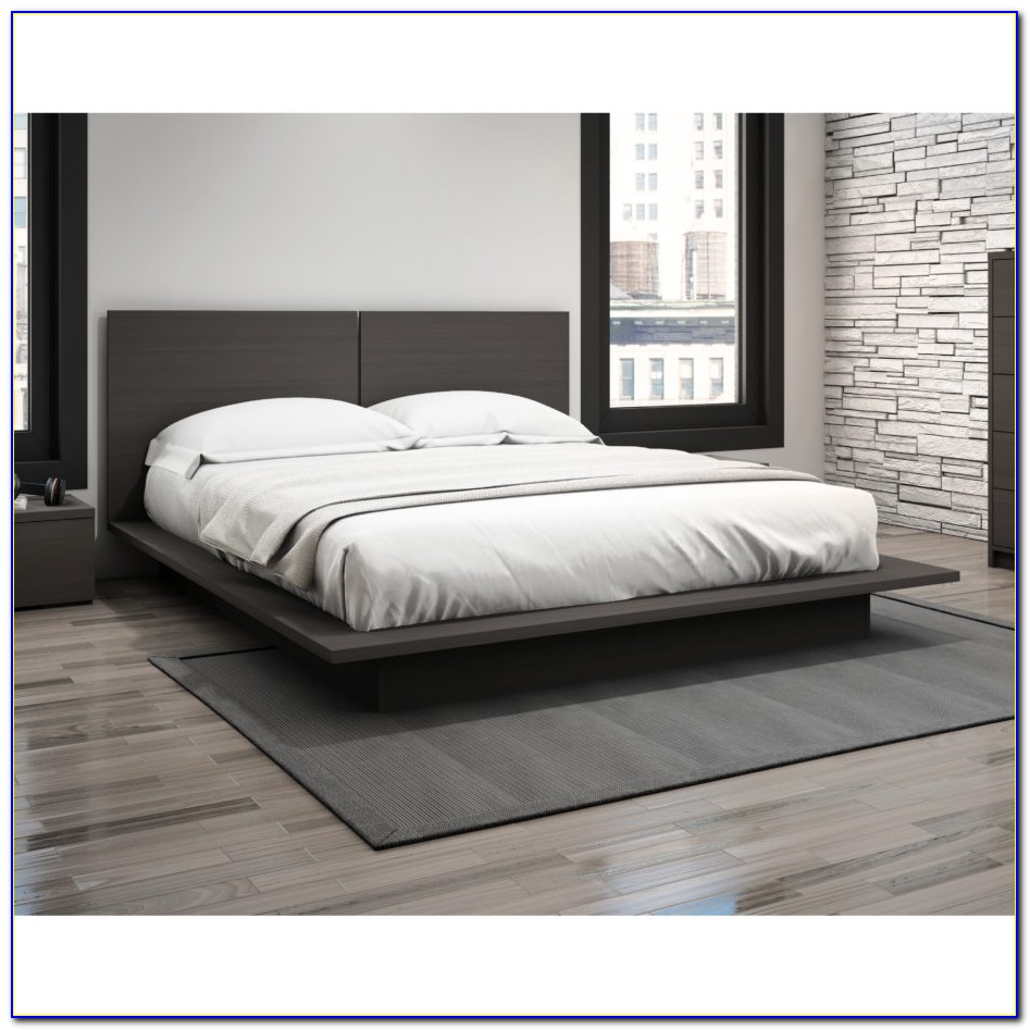 Full Size Bed Frame With Headboard White