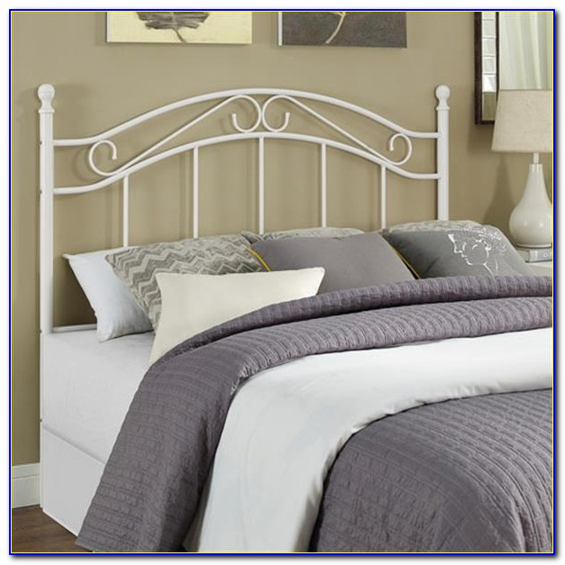 Full Size Iron Bed Headboard
