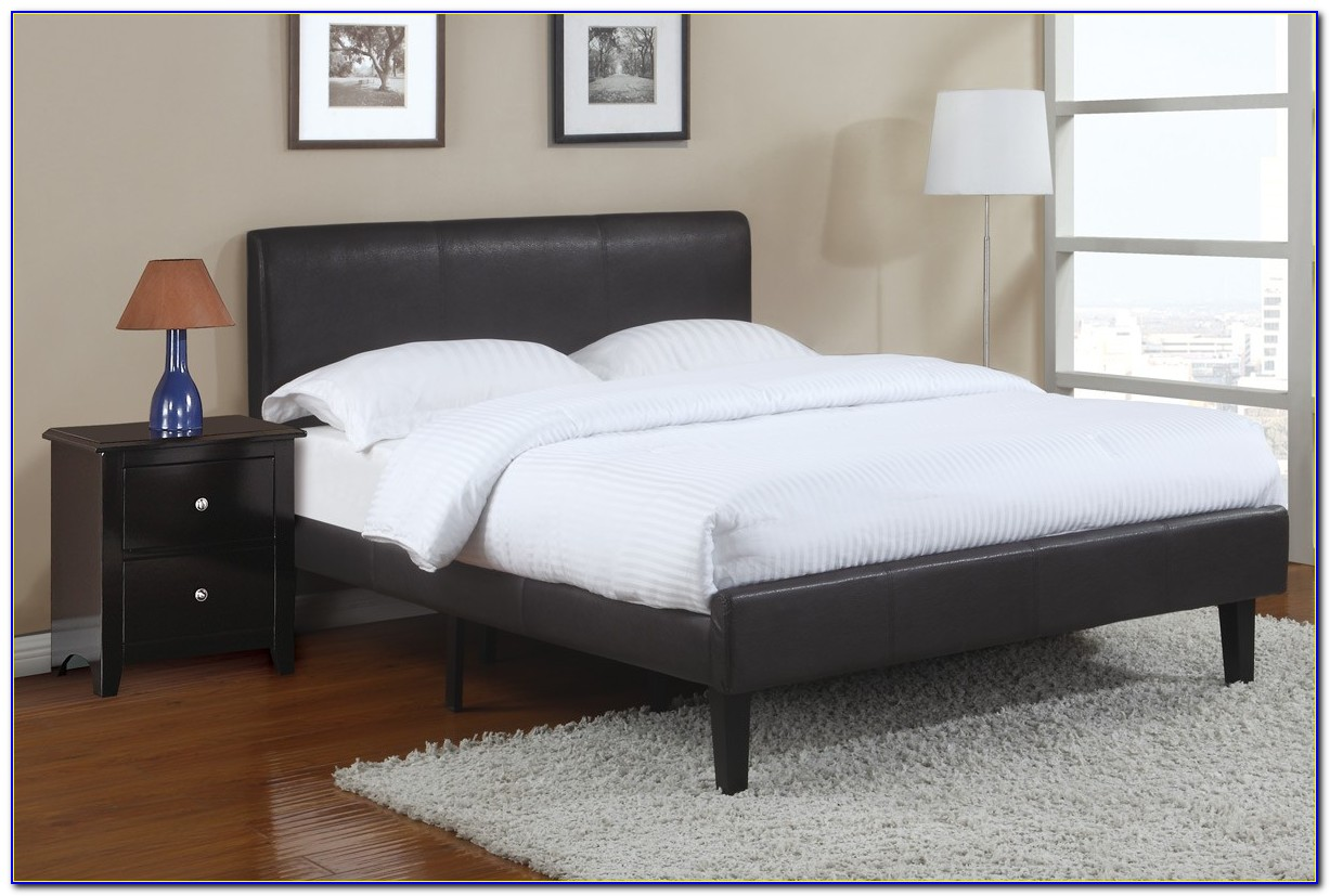 Full Size Platform Bed With Storage No Headboard