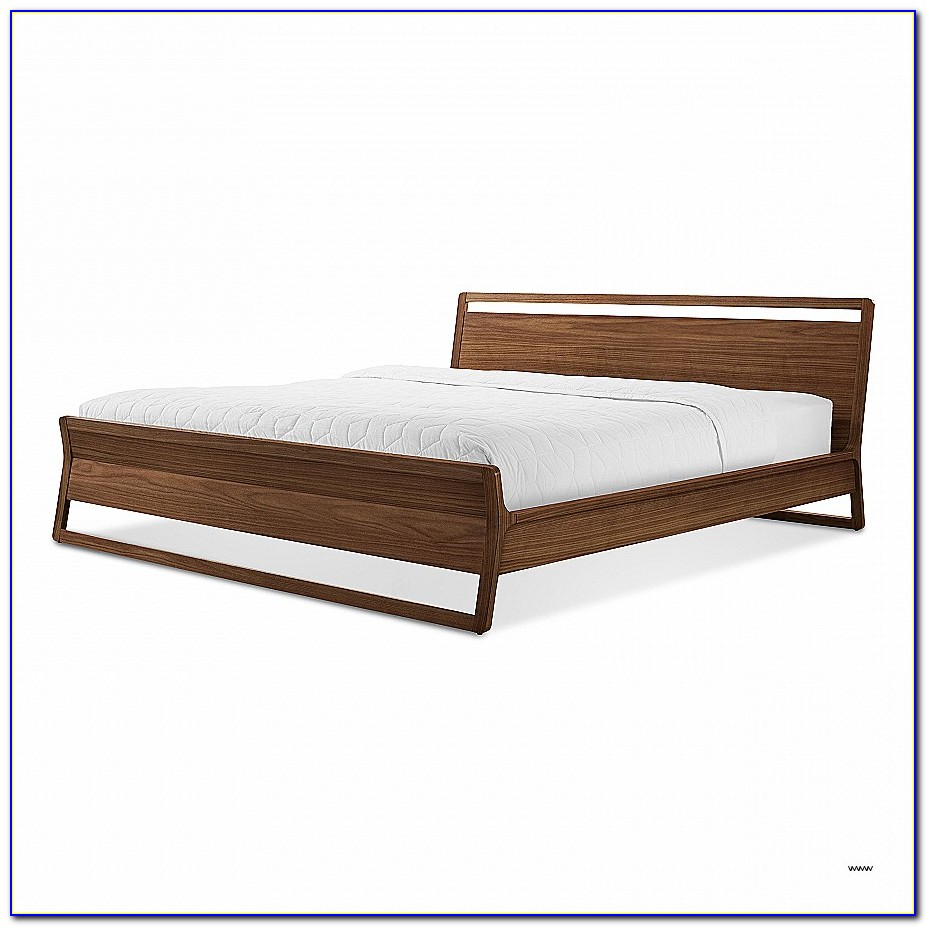 Wooden Bed Frame No Headboard Beautiful Woodrow King Bed Modern Wood Bed