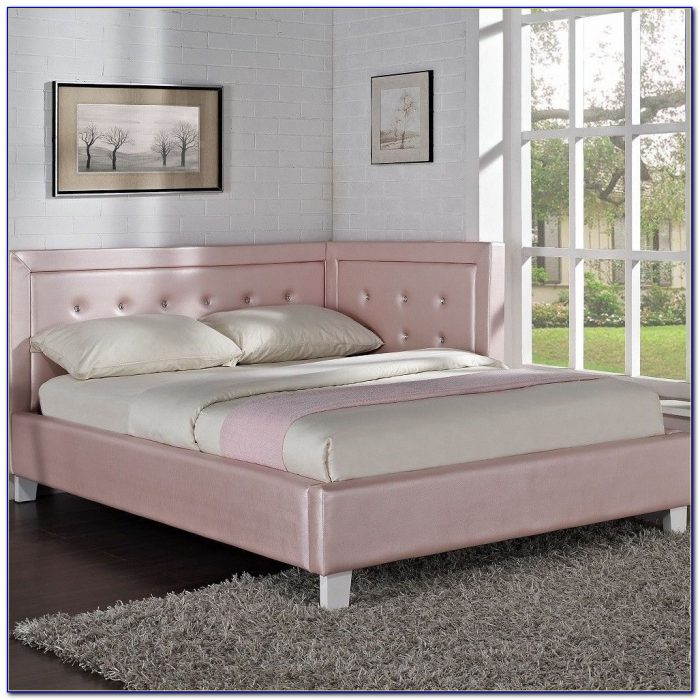 Full Size Upholstered Headboard And Footboard