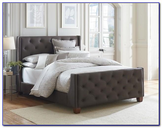 King Upholstered Headboard And Footboard Set Standard Furniture Photos 38